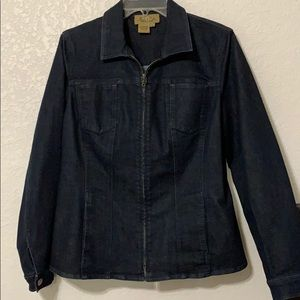 PECK & PECK DARK BLUE DENIM JACKET